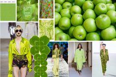 Modne kolory [wiosna-lato 2017]: greenery, fot. Imaxtree, Fotolia, kolaż Agata Wojtczak