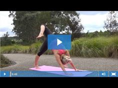 Beginners Yoga For Dressage Riders - 9 Minute Hip Opening Routine - YouTube