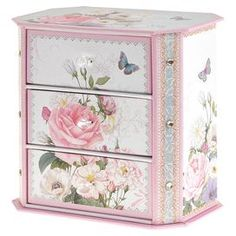 Lizbeth Jewellery Box