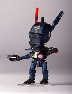 This Adorable Chibi-Chappie Is The Cutest Little Robot Around