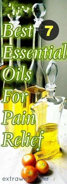 Essential oils for pain: These Essential oil are Great for pain relief, reduce cholesterol and nail fungus. These oil are very affordable too. I treated my chronic back pain with these 7 essential oils and the relief was instant..Essential oils can be really much more powerful than you might think .Click here for the Full READ ---> https://extrawellness.net/best-7-essential-oils-for-instant-pain-relief/