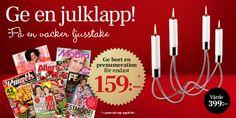 Julmössa gratis stickbeskrivning | Allas.se Mittens, Knitting, Triangles, Threading, Fingerless Mitts, Tricot, Breien, Triangle Shape, Gloves
