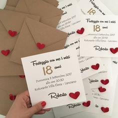 Inviti Raffinati Ed Eleganti Per I 18 Anni Inviti Nel 2019