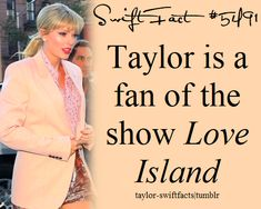 I have updated this fact in light of Taylor's Vogue interview today. Apologies for the error! Taylor Swift Blog, Taylor Swift Concert, Taylor Swift Facts, Long Live Taylor Swift, Taylor Swift Quotes, Taylor Swift Pictures, Taylor Alison Swift, Famous Movie Quotes, Quotes By Famous People