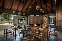 Ivory Lodge, Dining experience