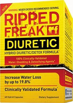 PHARMAFREAK  RIPPED FREAK DIURETIC  48CT  USA Shedding  Detox Formula  FOR PERFORMANCE ATHLETES *** Read more  at the image link.Note:It is affiliate link to Amazon.