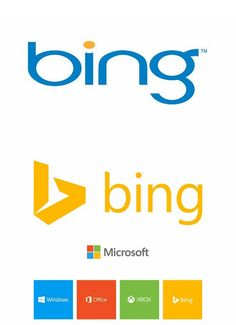 #Search giant #Bing rebrand inline with Microsoft's rollout of their flat tile-tastic design