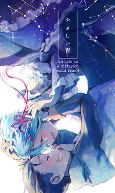 re:zero kara hajimeru isekai seikatsu, ReZero, rem, subaru Subaru, Anime Love, Re Zero Wallpaper, Mobile Wallpaper, Animé Fan Art, Re Zero Rem, Tamako Love Story, Graphisches Design, Chica Anime Manga