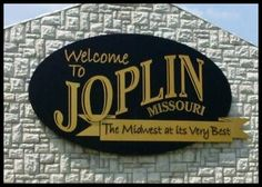 Joplin MO City Sign ~ Route 66