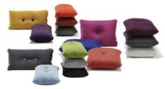 All the beautiful things I want: Dot Steelcut pillow by Hay -