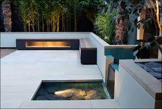 modern terrace bench remodel design