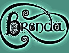 Brenda's logo, self-designed, used on the front cover of the new biography 'Brenda - For the Love of Cornwalll. Writing A Biography, Self Design, Cornwall, Ink, Songs, Lady, Cover, India Ink, Song Books