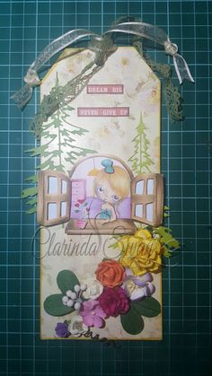 Swan Craft: Pop it up - Layered tag