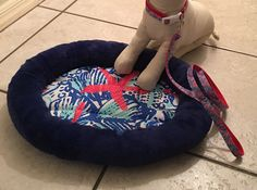 A personal favorite from my Etsy shop https://www.etsy.com/listing/453198464/lilly-pulitzer-pet-dog-cat-bed-she-she