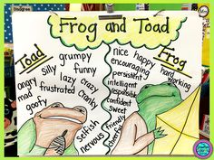 creative writing frogs