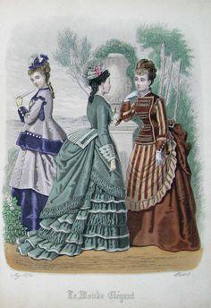 May, 1874 - Le Monde Elégant