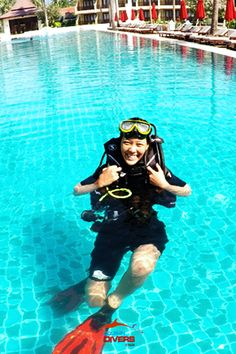 Aueng - Panut, Advanced open water diver #Dolphin Divers #Koh Chang #Thailand