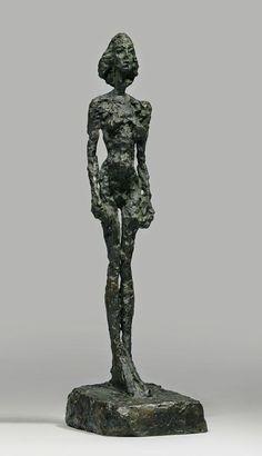 Alberto Giacometti ~ Surrealist/Existentialist/Figure sculptor