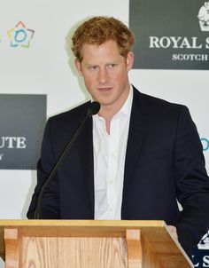 Prince Harry spoke to a crowd at the Greenwich Polo Club in Connecticut on Wednesday.