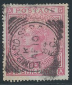 Great Britain stamp (GRBRI), F-VF.  Scott Catalog Value: $5,000. Stock # 314752    #philately