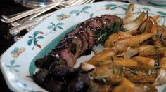 Roast venison  recipe (arrosto di cervo)