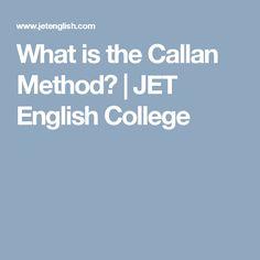 Mr english callan method callan method pinterest what is the callan method jet english college fandeluxe Image collections
