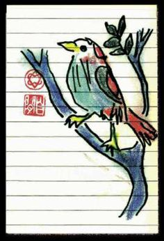 Leonard Cohen's bird.