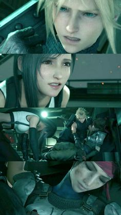 This is a Saddest moment in the First Part of the Final Fantasy 7 storyline. Jessie might not important to some other fans but true heart of fan to somewhere. Final Fantasy 7 Tifa, Final Fantasy Girls, Final Fantasy Characters, Final Fantasy Vii Remake, Fantasy Series, Fantasy Art, Cloud And Tifa, Cloud Strife, Tifa Ff7 Remake