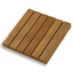 houten tuintegels 40x40cm Camaru hardhout vlonder maken