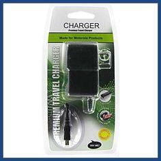 Premium Micro USB Motorola V8/V9/Q9h/U9/Z9-S1/Katana LX-LGVX9100 enV2 Travel Charger w/package