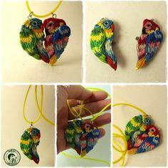 parrots pendant