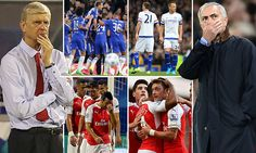 Chelsea and Arsenal will be desperate for victory after setbacks #DailyMail
