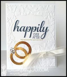 StampingJo wedding Big News, Spring Flowers