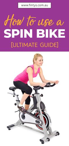 A spin bike is easy to set up and allows you to customize and adjust it to suit your needs. Here we explain how to use a spin bike properly. Fun Workouts, At Home Workouts, Exercise Routines, Exercise Motivation, Fitness Motivation, Spin Bike For Home, Leg Workout With Bands, Loose Belly, Weight Loss Tablets