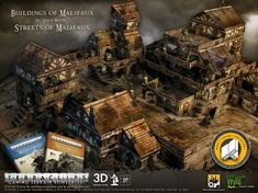 <3 Terraclips, endlessly customizable. WorldWorksGames::Buildings of Malifaux