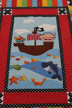 TwoFeetFirst – My Son's Pirate Quilt