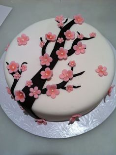 The Baking Sheet: Cherry Blossom Cake!