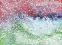 """""""Dance to the Oboe"""" by Iris Grace, a 5 year old with autism. She creates incredible watercolor paintings."""