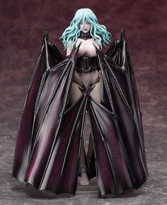 The 'Whore Princess of the Uterine Sea' Slan together with Conrad!From the Berserk Movie comes a figma of Slan, named the ''Whore Princess of the Uterine Sea'' by the Skeleton Knight, as well as a figFIX figure of the silent and eerie Conrad.  Using the smooth yet posable joints of figma, you can act out a variety of different scenes. figma Slan's unique wings have been faithfully included and are articulated in certain areas allowing yo...