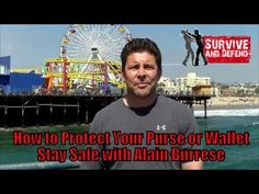 How to Protect Your Purse or Wallet - Stay Safe with Alain Burrese