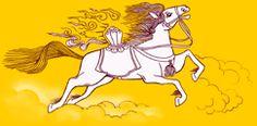 Windhorse - history of the Tibetan prayer flag