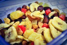 Dried fruit.