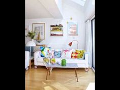 Colorful creative home in England by Ikea Family Live Colourful Living Room, Living Room Designs, Interior, Home Furniture, Creative Home, Flexible Furniture, Home Decor, House Interior, Home Deco