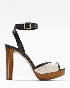 White House | Black Market Ankle-Strap Platform Heels #whbm