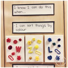 Hi guys! Today I wanted to share with you my favourite lessons and resources for teaching sorting in Kindergarten! LESSONS: First. Patterning Kindergarten, Shapes Worksheet Kindergarten, Kindergarten Learning, Teaching Math, Kindergarten Centers, Kindergarten Crafts, Math Centers, Teaching Ideas, Math Sorting Activities