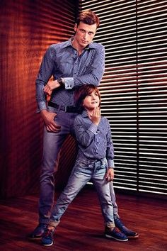 Tal mae tal filha Mais Daddy And Son, Dad Son, Father And Son, Mother And Child, Mom And Dad, Family Outfits, Boy Outfits, Father Son Photos, Lil Boy