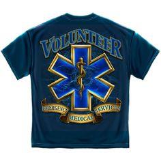Volunteer EMS Gold Shield Tshirt
