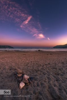 Stones and sand in Elba by ManuelMartin1972 #landscape #travel
