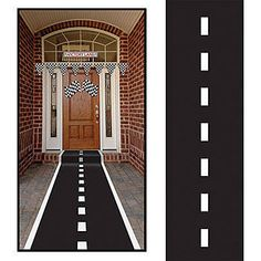 Racetrack Runner…how cute would this be leading up to the door? or leading out to the backyard?