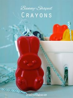 Left on Peninsula Road: Make It: Bunny-Shaped Crayons for Easter